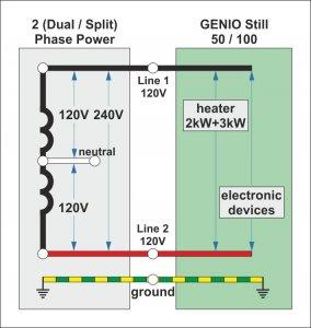 1 Phase Power Schematic
